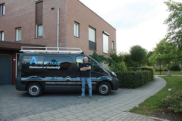 Arie de Hoop Kleinbouw homepage